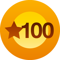 As you like it, 100 thanks