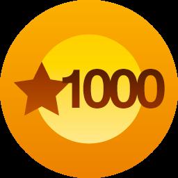 1000 J'aime