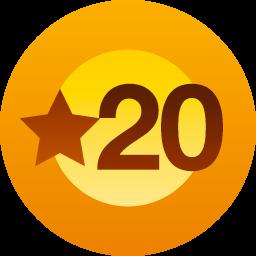 20 Mi piace