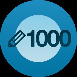 1,000 Posts