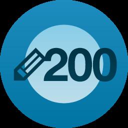 200 de articole
